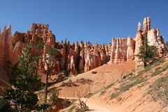 Het wilde westen, Bryce-canion Stock Afbeeldingen