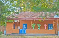 Het wildkamp in het Nationale Park van Yala, Sri Lanka Royalty-vrije Stock Afbeeldingen