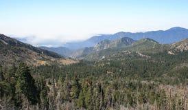 Het winderige Panorama van het Hiaat Stock Foto