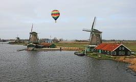 Het windmolenmuseum in Amsterdam Stock Afbeelding