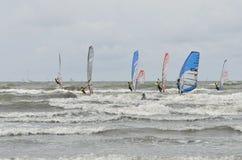 Het windsurfing van de formule Stock Fotografie