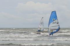 Het windsurfing van de formule Stock Foto