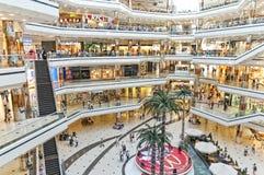 Het Winkelcentrum van Cevahir, Istanboel, Turkije Royalty-vrije Stock Fotografie
