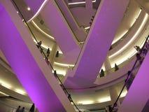 Het winkelcentrum van het Toonbeeld van Siam, Bangkok, Thailand. Stock Afbeelding