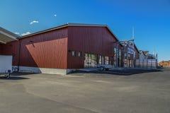 Het winkelcentrum wordt volledig gebouwd Royalty-vrije Stock Foto