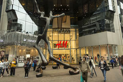 Het winkelcomplex van de Langhamplaats in Hong Kong Royalty-vrije Stock Fotografie
