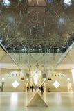 Het Winkelcomplex van het Louvremuseum Stock Fotografie