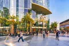 Het Winkelcomplex van het Toonbeeld van Siam in Bangkok Stock Afbeeldingen