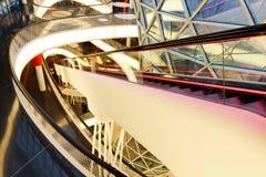 Het Winkelcomplex van MyZeil in Frankfurt, Duitsland stock afbeeldingen