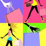 Het winkelen Stock Afbeeldingen