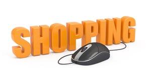 Het winkelen. vector illustratie