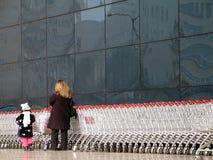 Het winkelen (Ankara, Turkije) Stock Foto's