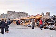 Het winkelen arcades in Carnaval in het gebied van Moskou Royalty-vrije Stock Foto's