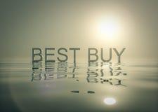 Het winkelen Bevorderingenbundel Best Buy Stock Foto's