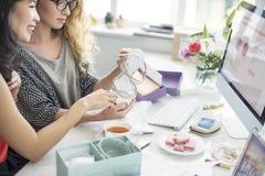 Het winkelen Commercieel Online Internet Concept royalty-vrije stock fotografie