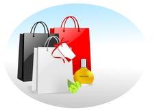 Het winkelen concept, cdr vector vector illustratie