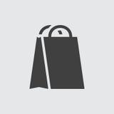 Het winkelen de illustratie van het zakpictogram royalty-vrije illustratie