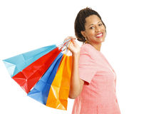 Het winkelen - de Jager van het Koopje Stock Foto's