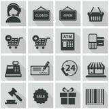 Het winkelen de Reeks van het Pictogram vector illustratie