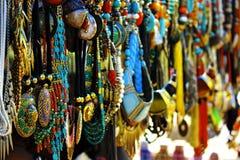 Het winkelen in Delhi Stock Afbeeldingen
