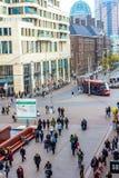 Het winkelen district van Den Haag Royalty-vrije Stock Foto