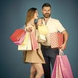 Het winkelen en verkoop stock afbeelding
