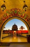 Het winkelen en vermaak complexe 1001 nacht Alf Leila Wa Leila, Sharm el Sheikh, Egypte Royalty-vrije Stock Afbeelding