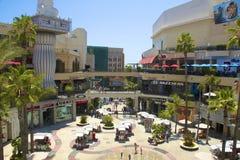 Het winkelen gebied in Los Angeles Stock Foto's