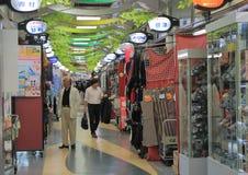 Het winkelen het arcade lokale leven Tokyo Japan Stock Foto