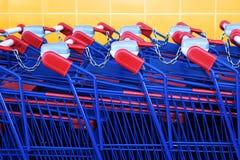 Het winkelen Karts Royalty-vrije Stock Fotografie