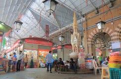 Het winkelen markt Mumbai India stock foto