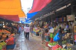 Het winkelen markt Mumbai India royalty-vrije stock foto's