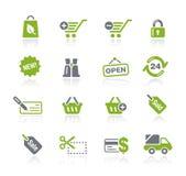 Het winkelen // Natura Reeks royalty-vrije illustratie