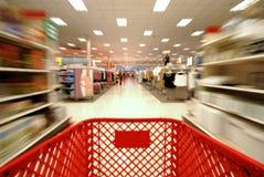 Het winkelen Onduidelijk beeld 2 Stock Foto's