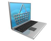 Het winkelen op Internet Royalty-vrije Stock Foto