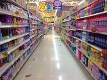 Het winkelen opslag Stock Foto's