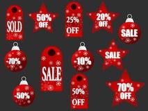 Het winkelen pictogrammen Royalty-vrije Stock Fotografie