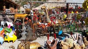 Het winkelen reis aan Santa Fe Stock Afbeeldingen