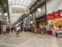 Het Winkelen scheenbeen-Nakamise Straat Stock Fotografie