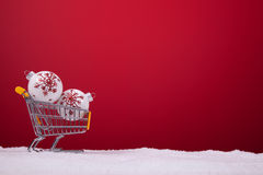 Het winkelen seizoen stock foto's