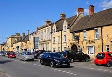 Het winkelen Straat, moreton-in-Moeras Stock Fotografie
