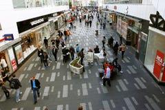 Het winkelen straat in Stockholm Royalty-vrije Stock Fotografie