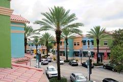 Het winkelen straatdetailhandels FL royalty-vrije stock afbeeldingen