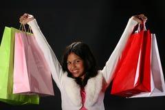Het winkelen succes Stock Afbeelding