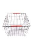 Het winkelen supermarktkarretje Stock Afbeelding