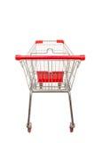 Het winkelen supermarktkarretje Royalty-vrije Stock Fotografie