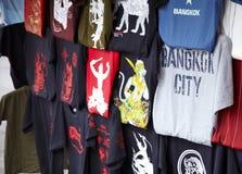 Het winkelen in Thailand Stock Afbeeldingen