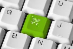 Het winkelen toetsenbord royalty-vrije illustratie