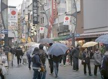 Het winkelen in Tokyo Stock Afbeeldingen