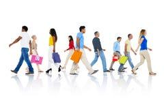 Het winkelen van de Aankoop Kleinhandelsklant Verkoopconcept Van de consument royalty-vrije stock afbeeldingen